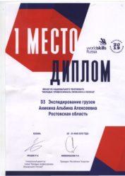 thumbnail of Альбина Аникина WSR